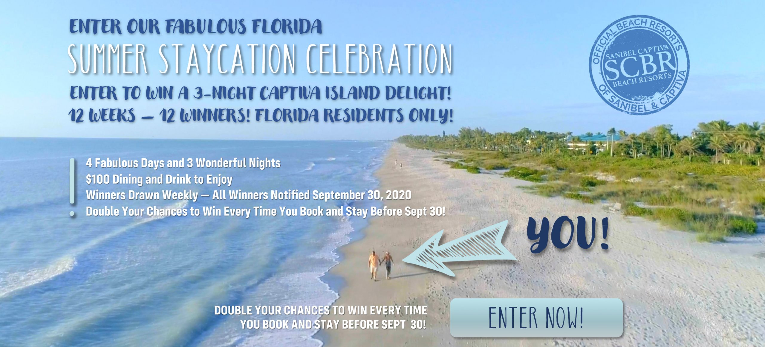 Summer Staycation Contest at 'Tween Waters Captiva Island, Florida