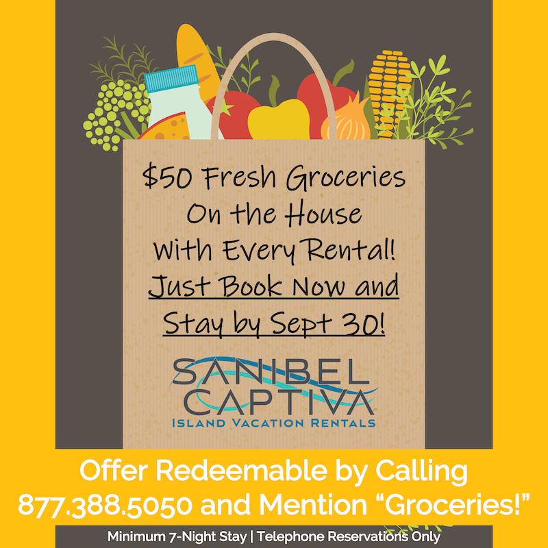 Groceries on Captiva Island, Florida